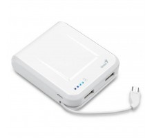 Батарея универсальная Genius ECO-U700 7800 mAh White (39800002102)
