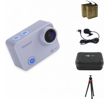 Экшн-камера AirOn ProCam 7 Touch 12in1 blogger kit (4822356754787)