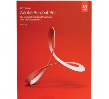Офисное приложение Adobe Acrobat Pro 2017 Multiple Ukrainian AOO License TLP (65280512AD01A00)