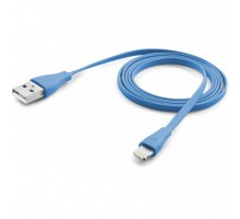 Дата кабель CellularLine USB - microUSB blue 1m (USBDATACMICROUSBB)