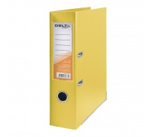 Папка - регистратор Delta by Axent double-sided PP 7,5 cм, assembled, yellow (D1712-08C)