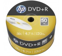 Диск DVD HP DVD+R 4.7GB 16X 50шт (69305)