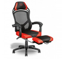 Кресло игровое Trust Rona Gaming Chair with footrest Black (22980)