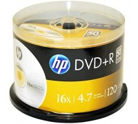 Диск DVD HP DVD+R 4.7GB 16X 50шт Spindle (69319)