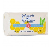 Мыло Johnson's Baby Pure Protect 100 г (3574661115122)