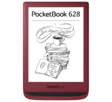 Электронная книга PocketBook 628 Touch Lux5 Ruby Red (PB628-R-CIS)