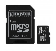 Карта памяти Kingston 8GB microSD class 10 UHS-I Industrial (SDCIT/8GB)