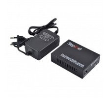 Медиаконвертер 10/100Base-TX to 100Base-FX 1310T/1550R, SM, SC/PC, 20 км Step4Net (MC-A-0,1-1SM-1310nm-20)