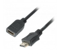 Кабель мультимедийный HDMI male to female 4.5m Cablexpert (CC-HDMI4X-15)