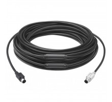Кабель мультимедийный Logitech Extender Cable for Group Camera 15m Business MINI-DIN (939-001490)