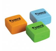 Ластик Axent soft, square, color assortment (display) (1182-А)