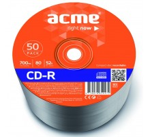 Диск CD ACME 700Mb 52x shrink 50 шт (4770070854471)