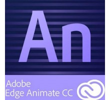 ПО для мультимедиа Adobe Animate CC / Flash Prof CC Multiple/Multi Lang Lic New 1Year (65270422BA01A12)