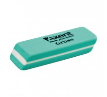 Ластик Axent soft Gross, green (display) (1188-А)
