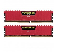 Модуль памяти для компьютера DDR4 32GB (2x16GB) 3200 MHz Vengeance LPX Red CORSAIR (CMK32GX4M2B3200C16R)