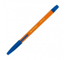 Ручка шариковая BUROMAX non-retractable JOBMAX ORANGE, blue (BM.8119-01)