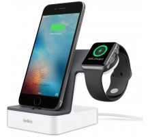 Док-станция Belkin PowerHouse iWatch + iPhone, white (F8J200vfWHT)