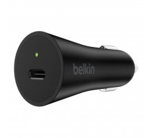 Зарядное устройство Belkin BOOST^CHARGE USB-C with Power Delivery (27W, 3.0A), Black (F7U071BTBLK)