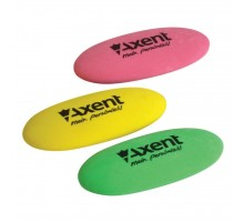 Ластик Axent soft, oval, color assortment (display) (1181-А)