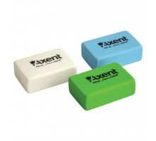 Ластик Axent soft, rectangular, color assortment (display) (1180-А)