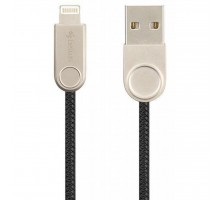 Дата кабель USB 2.0 AM to Lightning Pro Nylon Lay Black Gelius (63254)