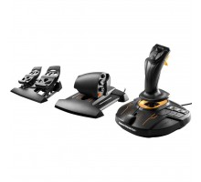 Джойстик ThrustMaster T.16000M FC Flight Pack Black/Orange (2960782)