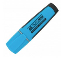 Маркер BUROMAX highlighter pen, chisel tip, blue (BM.8900-02)