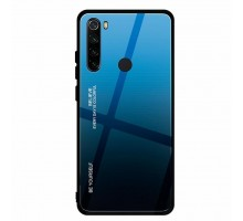 Чехол для моб. телефона BeCover Gradient Glass для Xiaomi Redmi Note 8 Blue-Black (704445)