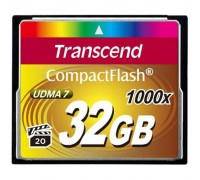 Карта памяти Transcend 32Gb Compact Flash 1000x (TS32GCF1000)