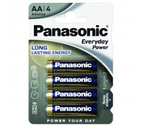 Батарейка PANASONIC EVERYDAY POWER AA BLI 4 (LR6REE/4BR)