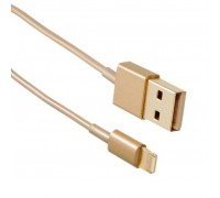 Дата кабель Drobak USB 2.0 – Lightning (Gold) 1.0м (215341)