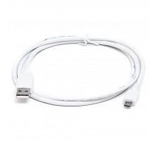 Дата кабель USB 2.0 AM to Micro 5P 1.0m Pro white REAL-EL (EL123500024)