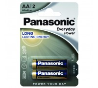 Батарейка PANASONIC LR06 PANASONIC Everyday Power * 2 (LR6REE/2BR)