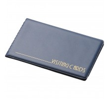 Визитница Panta Plast 24 cards, PVC, dark blue (0304-0001-02)