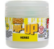 Бойл Brain fishing Pop-Up F1 HERBZ (мята с чесноком) 10 mm 20 gr (1858.02.37)