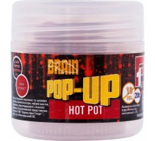Бойл Brain fishing Pop-Up F1 Hot pot (специи) 10 mm 20 gr (1858.01.84)