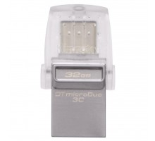 USB флеш накопитель Kingston 32GB DataTraveler microDuo 3C USB 3.1 (DTDUO3C/32GB)