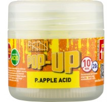 Бойл Brain fishing Pop-Up F1 P.Apple Acid (ананас) 10 mm 20 gr (1858.02.26)