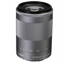 Объектив Canon EF-M 55-200mm f/4.5-6.3 IS STM Silver (1122C005)
