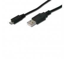 Дата кабель USB 2.0 AM to Micro 5P 1.0m EDNET (84129*)