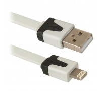 Дата кабель USB 2.0 AM to Lightning 1.0m ACH01-03P Defender (87472)