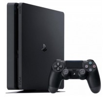 Игровая консоль SONY PlayStation 4 Slim 500 Gb Black (HZD+GTS+UC4+PSPlus 3М) (9395270)