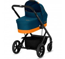 Коляска Cybex Balios S 2в1 Tropical Blue с бампером (519001257)