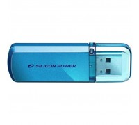 USB флеш накопитель Silicon Power 64GB Helios 101 Blue USB 2.0 (SP064GBUF2101V1B)