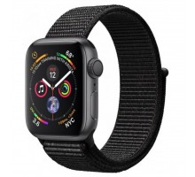 Смарт-часы Apple Watch Series 4 GPS, 44mm Space Grey Aluminium Case with Blac (MU6E2UA/A)