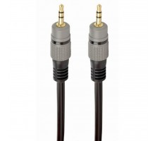Кабель мультимедийный Jack 3.5mm M to Jack 3.5mm M 1.5m Cablexpert (CCAP-3535MM-1.5M)