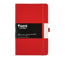 Канцелярская книга Axent Partner, 125*195, 96sheets, square, red (8201-03-А)