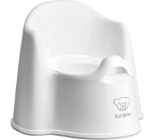 Горшок Baby Bjorn Potty Chair белый (55221)