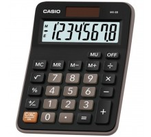 Калькулятор Casio MX-8В-BK-W-EC
