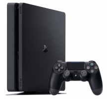 Игровая консоль SONY PlayStation 4 Slim 1Tb Black (FIFA 18/DS4/ PS+14Day) (9915966)